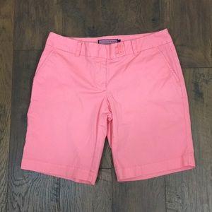 Vineyard Vines salmon pink bermuda shorts